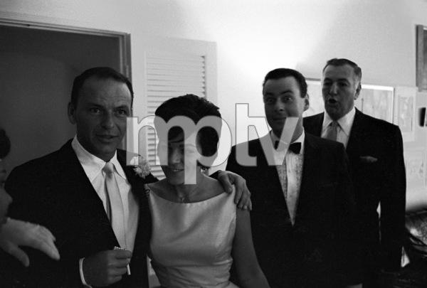 Frank Sinatra and Jack Entratter at Sammy Davis Jr.