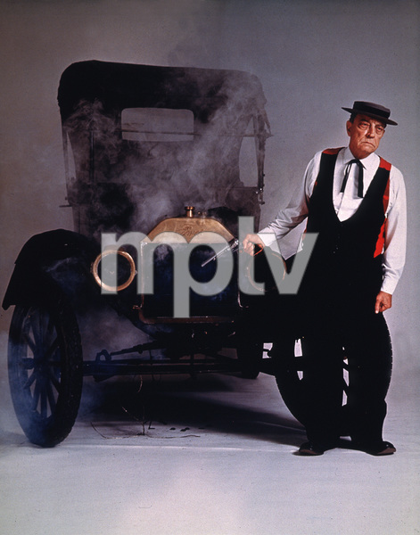 Buster Keaton and a Model T Ford 1964 © 1978 Sid Avery - Image 0014_0045