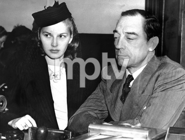 Buster Keaton and Eleanor Norris Keaton get marriage license 1940** I.V. - Image 0014_0702