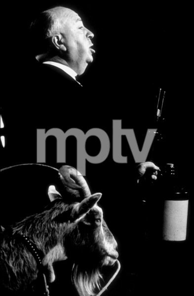 """Alfred Hitchcock on the set of""""Alfred Hitchcock Presents.""""1956/CBS. © 1978 Gene Trindl - Image 0017_0054"""
