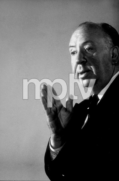 "Alfred Hitchcock on the set of""Alfred Hitchcock Presents.""January 12, 1956/CBS. © 1978 Gene Trindl - Image 0017_0508"