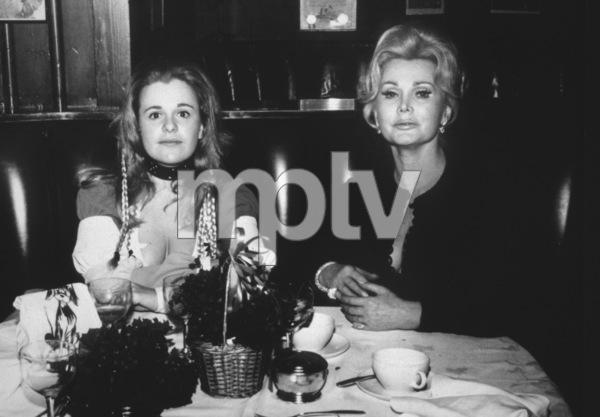 Zsa Zsa Gabor and daughter Francesca Hilton1964 - Image 0018_0160