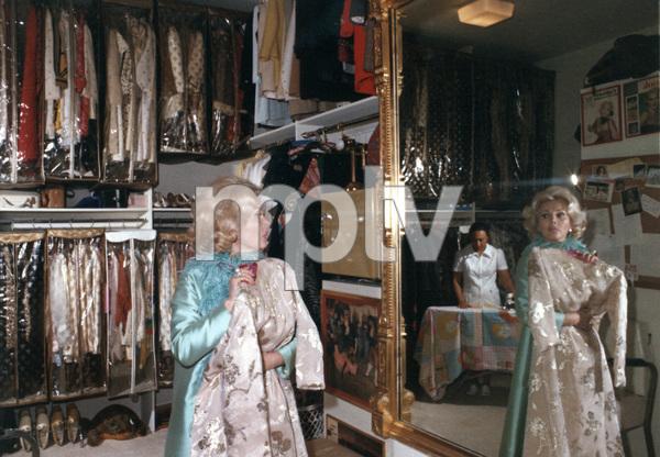 Zsa Zsa Gaborat home1974 © 1978 Wallace Seawell - Image 0018_0179