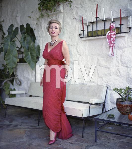 Zsa Zsa Gabor at home1958 © 1978 Sid Avery - Image 0018_0301