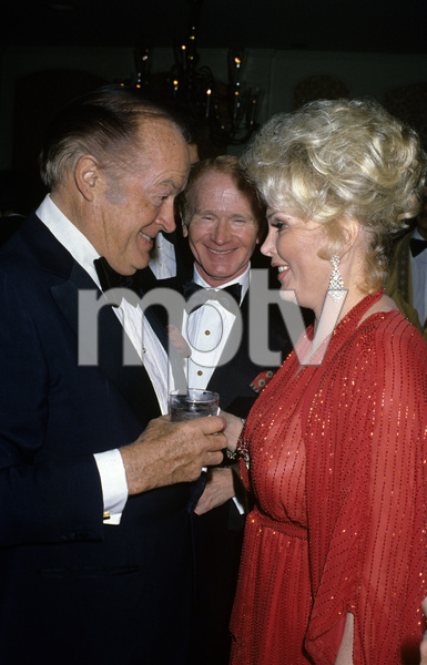 Zsa Zsa Gabor with Bob Hope and Red Buttonscirca 1970s© 1978 Gary Lewis - Image 0018_0312