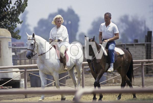 Zsa Zsa Gabor and her husband Prince Frederic von Anhalt 1989 © 1989 Gunther - Image 0018_0339