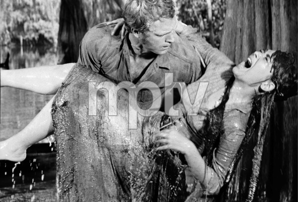 """Steve McQueen and Suzanne Pleshette during the making of """"Nevada Smith""""1966 © 1978 Chester Maydole - Image 0019_1084"""