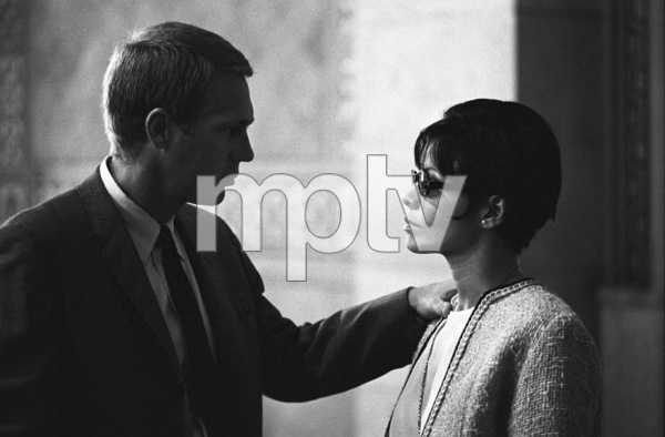 Steve McQueen and Neile Adams at a Los Angeles City Council meeting1964© 1978 Chester Maydole - Image 0019_1126