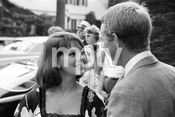 Natalie Wood and Steve McQueen at a Luci Baines Johnson barbecue1964© 1978 Chester Maydole - Image 0019_1159