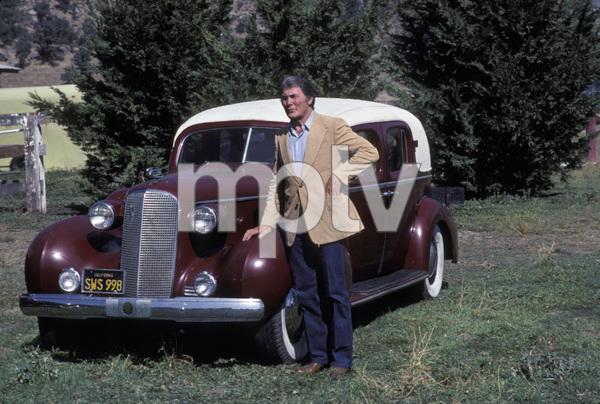 Jack Palance and his 1937 Cadillac1982** H.L. - Image 0021_0452