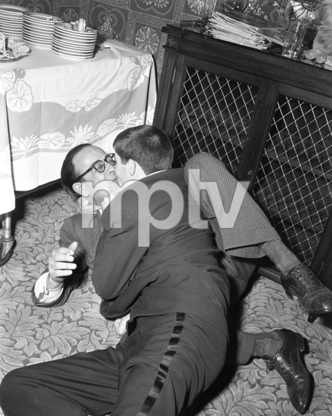 Jerry Lewis and George Evanscirca 1950© 1978 Barry Kramer - Image 0022_1638