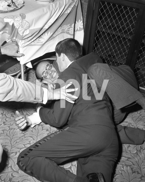 Jerry Lewis and George Evanscirca 1950© 1978 Barry Kramer - Image 0022_1639