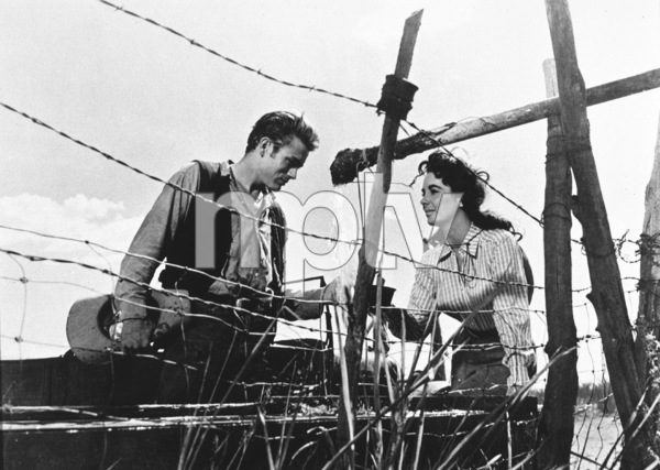 "James Dean and Elizabeth Taylorin ""Giant""1955 Warner / MPTV - Image 0024_0218"