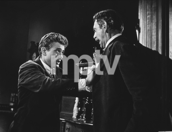 "James Dean and Raymond Masseyin ""East of Eden.""1955  Warner / MPTV - Image 0024_0222"