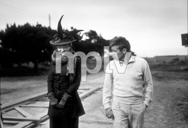 "James Dean and Jo Van Fleet in""East of Eden.""1955 Warner / MPTVPhoto by Floyd McCarty - Image 0024_0263"