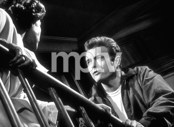 "James Dean and Ann Doran in ""Rebel Without A Cause.""1955 Warner / MPTVPhoto by Floyd McCarty - Image 0024_0265"