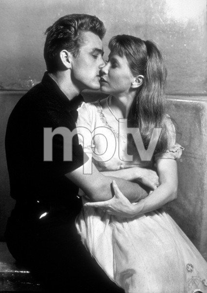"James Dean and Julie Harris in ""East of Eden.""1955 Warner / MPTVPhoto by Floyd McCarty - Image 0024_0301"