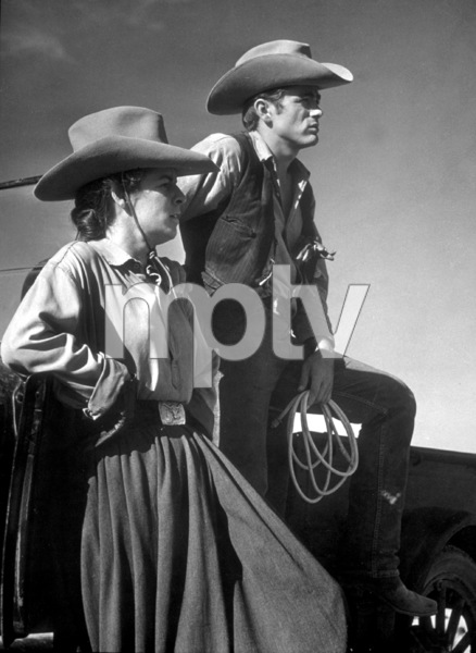 "James Dean and Mercedes McCambridgein ""Giant.""1955 Warner / MPTVPhoto by Floyd McCarty - Image 0024_0464"