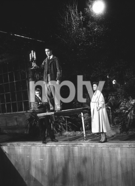 "James Dean, Natalie Wood, andSal Mineo in""Rebel Without A Cause.""1955 Warner / MPTVPhoto by Floyd McCarty - Image 0024_0485"