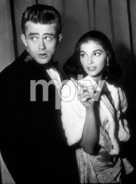 James Dean and Pier Angeli, c. 1955. - Image 0024_2087