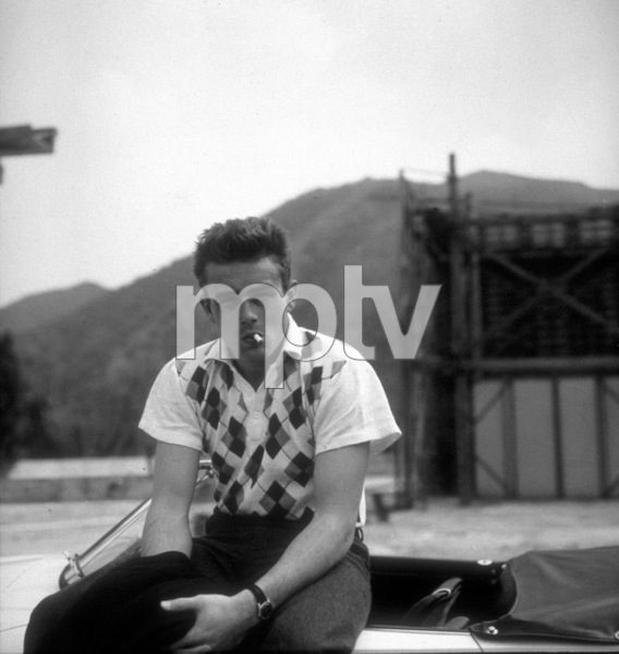 James Dean 1955 Photo by Floyd McCarty - Image 0024_2091