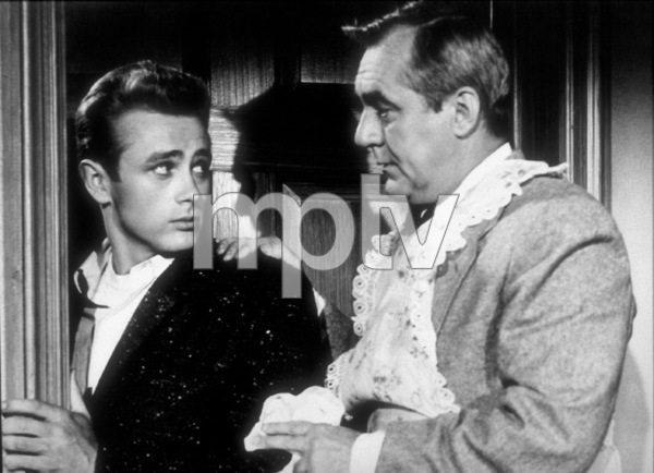 "James Dean and Jim Backusin ""Rebel Without A Cause.""1955 Warner / MPTV - Image 0024_2131"