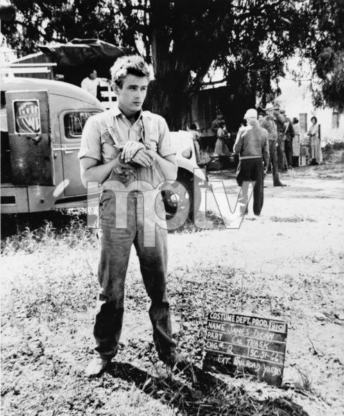 """James Dean wardrobe test on the set of """"East of Eden""""1955 Warner Bros. - Image 0024_2164"""