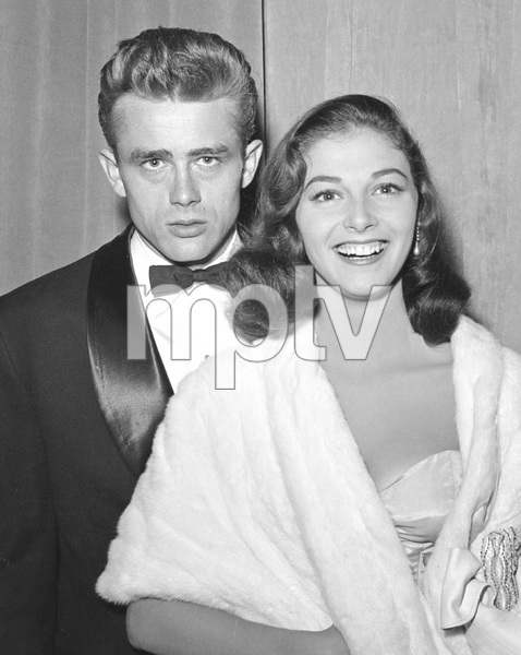 James Dean and Pier Angeli, early 50