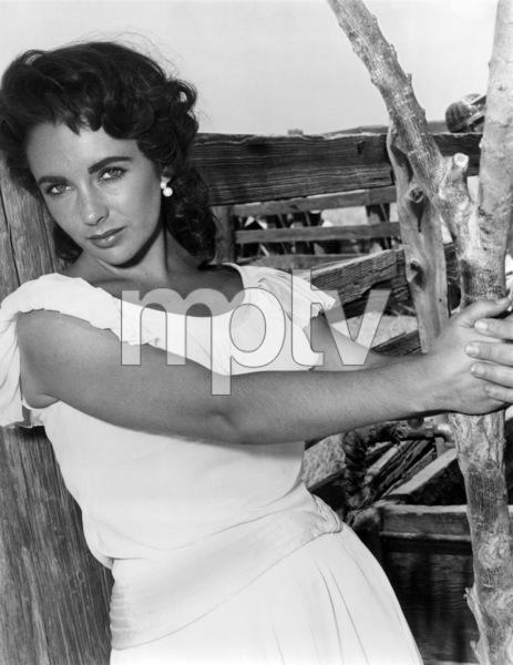 """Giant""Elizabeth Taylor in Marfa, Texas1955** I.V. - Image 0024_2442"
