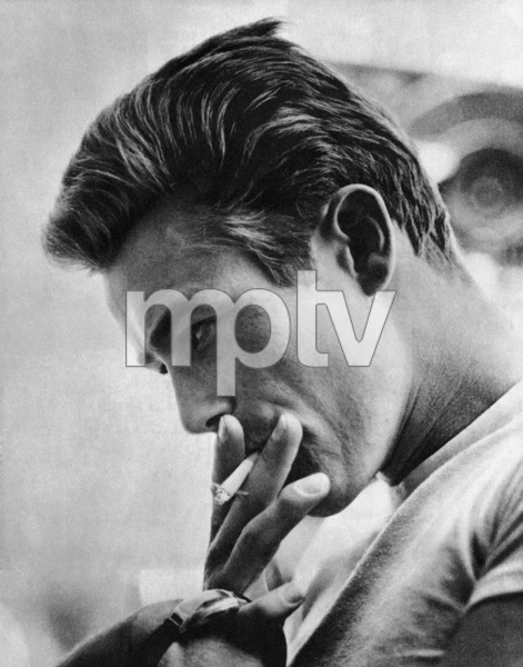 """James Dean on the set of """"Rebel Without a Cause"""" 1955 © 1978 Sid Avery - Image 0024_2444"""