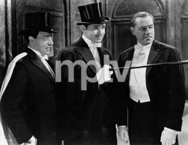 """""""San Francisco,""""Harold Huber, Clark Gable, & Jack Holt.1936 MGM - Image 0025_0366"""