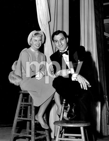"""Doris Day, Danny ThomasOn Location for """"I"""