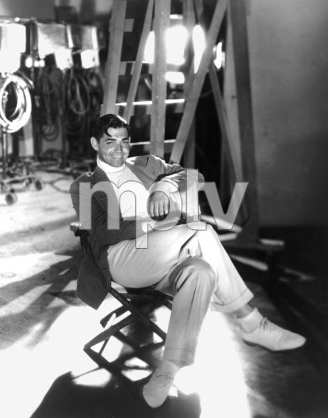 Clark Gable1933Photo by George Hurrell**I.V. - Image 0025_2260