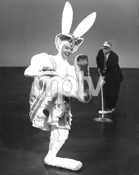 """Doris DayRehearsing for """"My Dream Is Yours"""" 1949Photo by Floyd McCarthy - Image 0025_2338"""