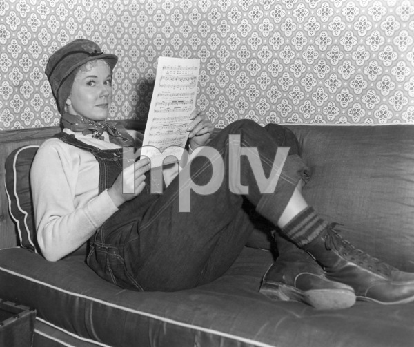 "Doris DayRehearsing for ""By The Light Of The Silvery Moon"" 1953Photo By Jack Woods - Image 0025_2341"