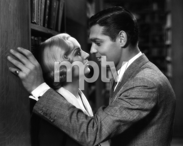 """No Man of Her Own""Clark Gable, Carole Lombard1932 Paramount Pictures** I.V. - Image 0025_2410"