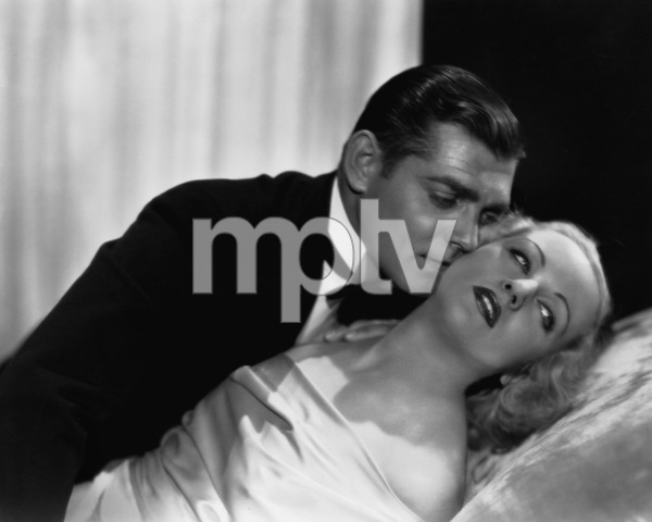 """No Man of Her Own""Clark Gable, Carole Lombard1932 Paramount Pictures** I.V. - Image 0025_2411"