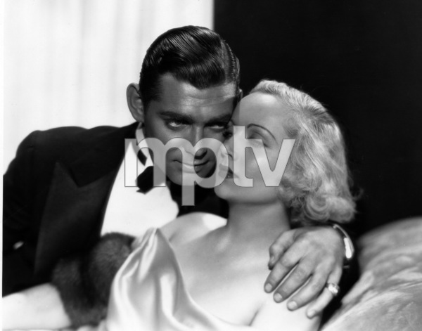 """No Man of Her Own""Clark Gable, Carole Lombard1932 Paramount Pictures** I.V. - Image 0025_2412"