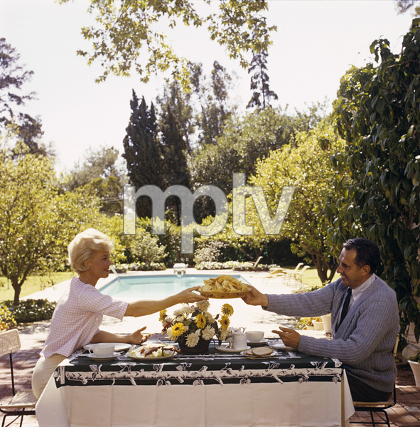 Doris Day at her Beverly Hills home with husband, Martin Melcher1961© 1978 Bob Willoughby - Image 0025_2500