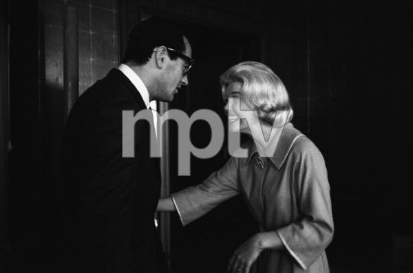 """Midnight Lace""Rock Hudson, Doris Day1960© 1978 Bob Willoughby - Image 0025_2558"