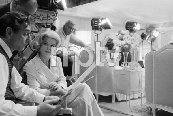 """""""Midnight Lace""""Director David Miller, Doris Day1960© 1978 Bob Willoughby - Image 0025_2576"""
