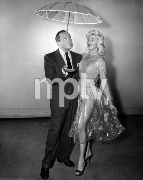 "Jack Benny and Jayne Mansfield on ""The Jack Benny Program""1950Photo by Gabi Rona - Image 0028_0877"