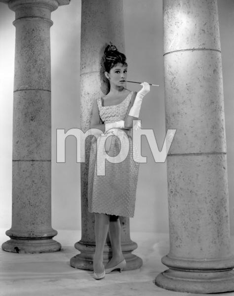 """Audrey Hepburn publicity still for""""Breakfast At Tiffany"""