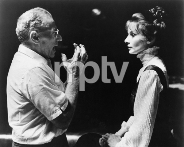 "Director George Cukor and Audrey Hepburn in ""My Fair Lady""1964 Warner - Image 0033_0301"
