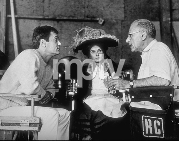 "Tony Curtis, Aydrey Hepburn andGeorge Cukor ""My Fair Lady""1964 Warner - Image 0033_0302"