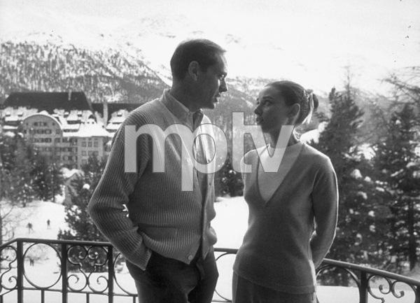 Audrey Hepburn and Mel Ferrer1957 © 1978 Sanford Roth / AMPAS - Image 0033_2279
