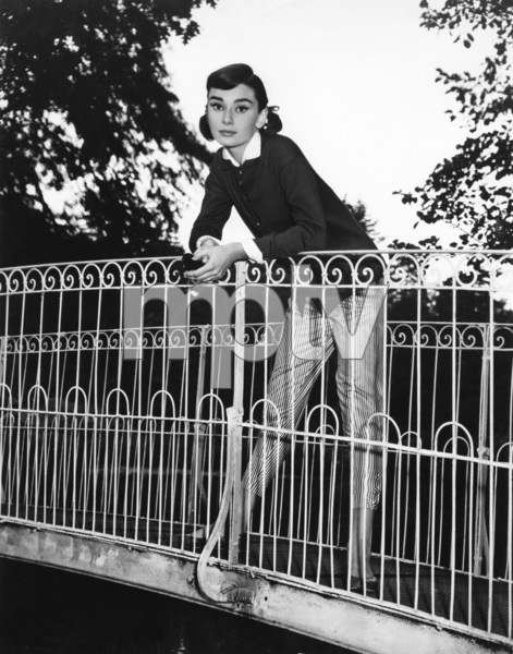 """Love In the Afternoon"" Audrey Hepburn1957** I.V. - Image 0033_2648"