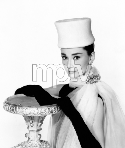"""Audrey Hepburn in """"Funny Face""""1957Photo by Bud Fraker - Image 0033_2659"""
