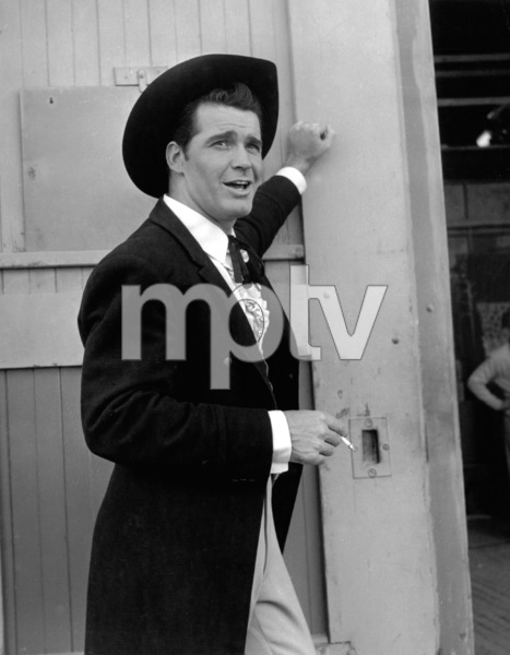"James GarnerIn charater for the Television show ""Maverick""circa 1960Photo by Joe Shere - Image 0037_0791"