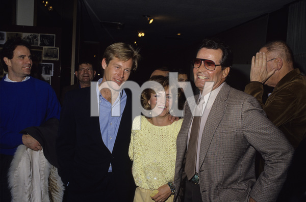 James Garner with Brian Kerwin and Sally Fieldcirca 1980s© 1980 Gary Lewis - Image 0037_0830